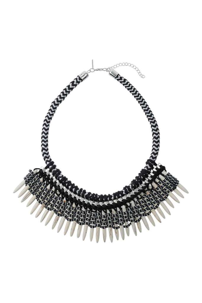 Spike Wrap Collar Necklace - Topshop